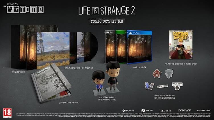 《奇异人生2》实体豪华版公布,和最终章同步发售