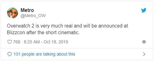 传闻:《守望先锋2》和《暗黑破坏神4》将在今年暴雪嘉年华公布