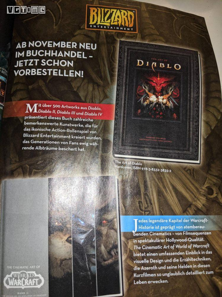 在正式官宣之前,《暗黑破坏神4》就被杂志广告泄露了