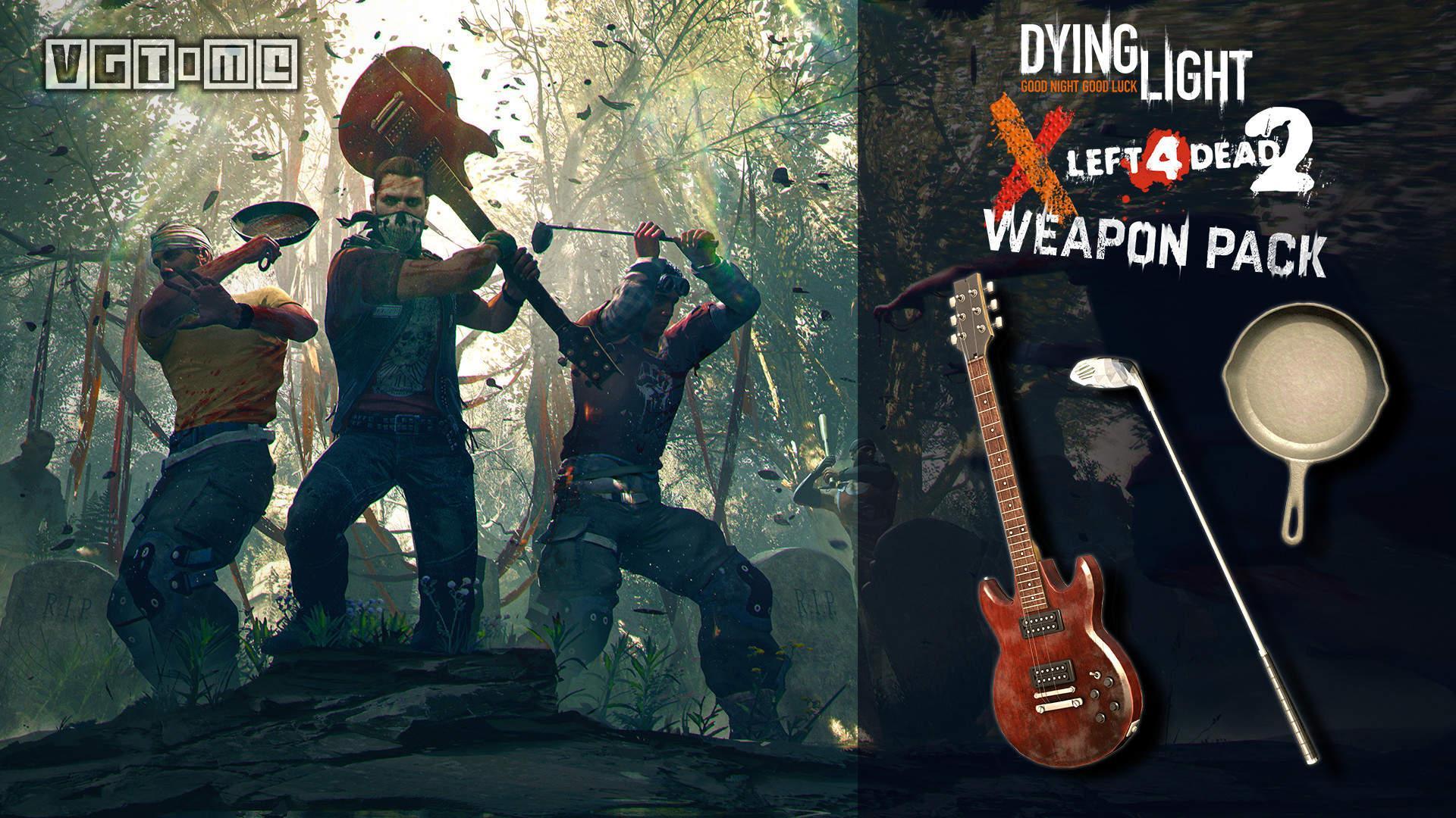 《消逝的光芒》X《求生之路2》联动内容公开:各自加入对方的武器