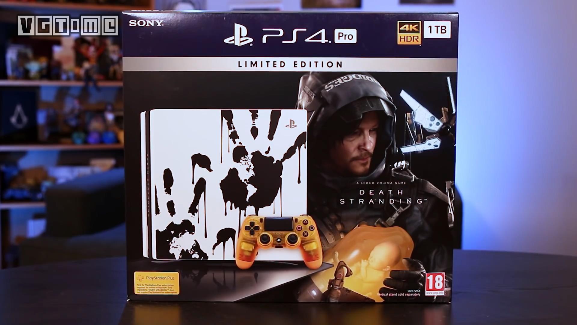 《死亡搁浅》典藏版及限定PS4 Pro套装开箱视频