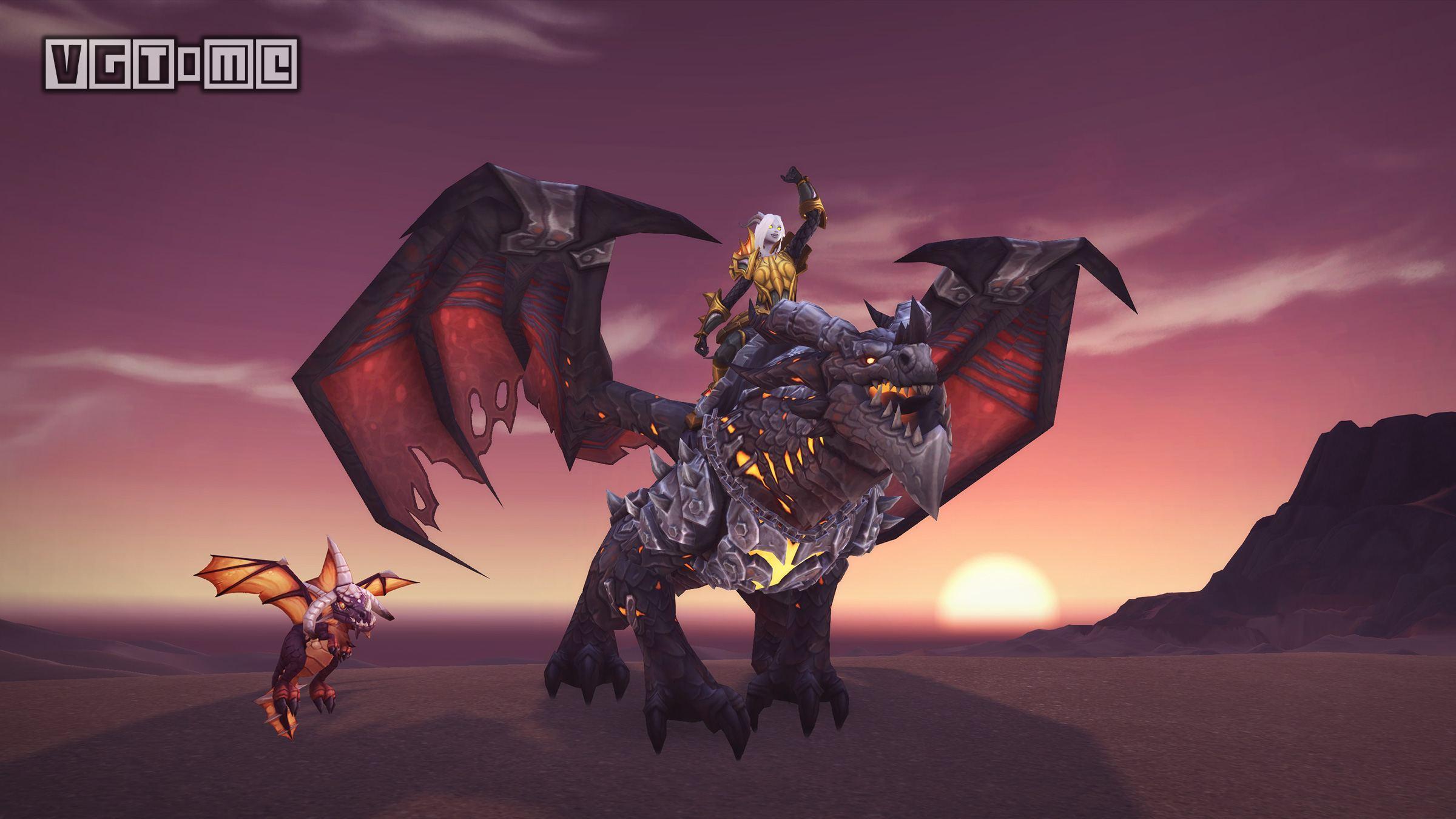 《魔兽世界》15周年活动开启,赢取死亡之翼坐骑