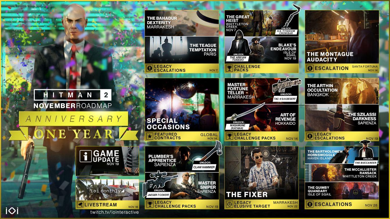 《杀手2》维护已近尾声 系列新作开发顺利