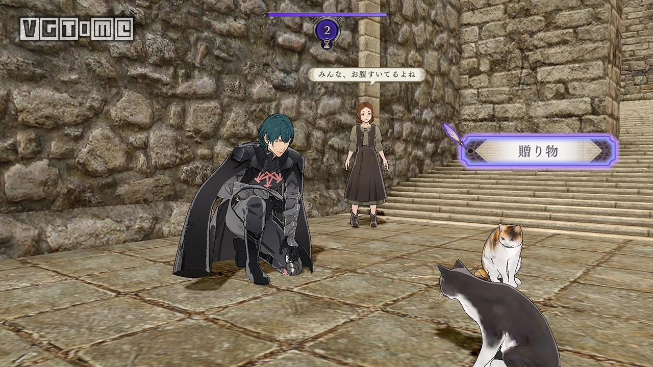 《火焰纹章 风花雪月》第三弹DLC:浴室、女仆装、安娜登场