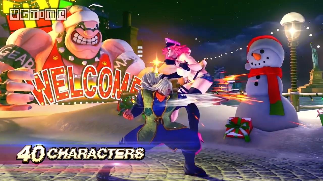 《街头霸王5 冠军版》2020年2月14日发售,新角色「Gill」公布