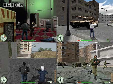 在敘利亞做游戲