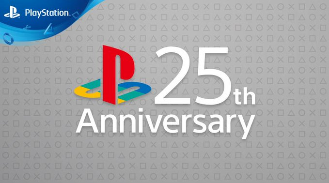 Today is the 25th anniversary of Playstation
