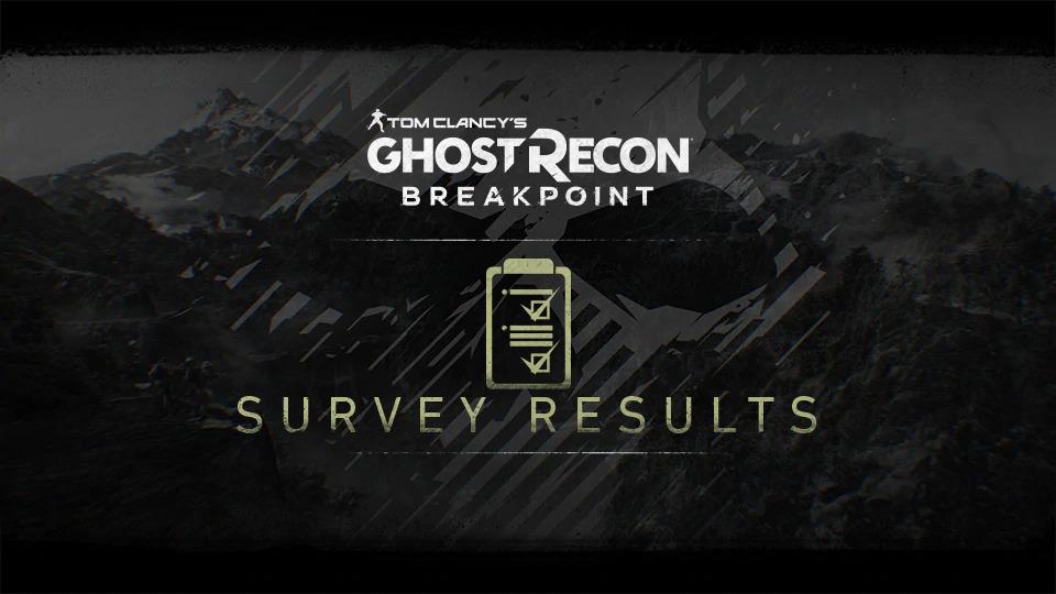 《幽灵行动 断点》改进问卷结果公布 过半玩家想加入AI队友
