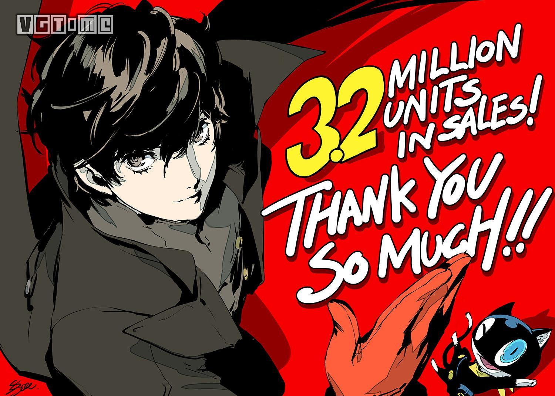 《女神异闻录5R》日本销量破40万,系列总销量破1100万