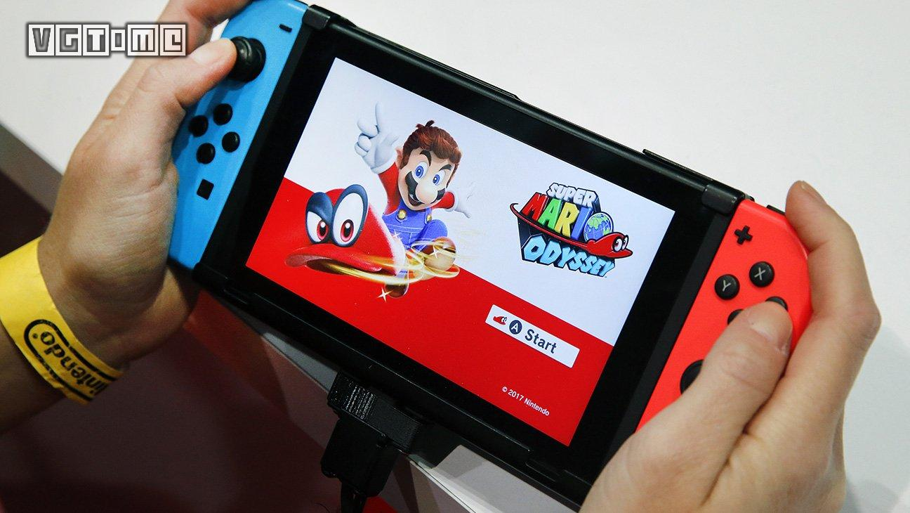 感恩节期间,Switch在美国销量突破83万台