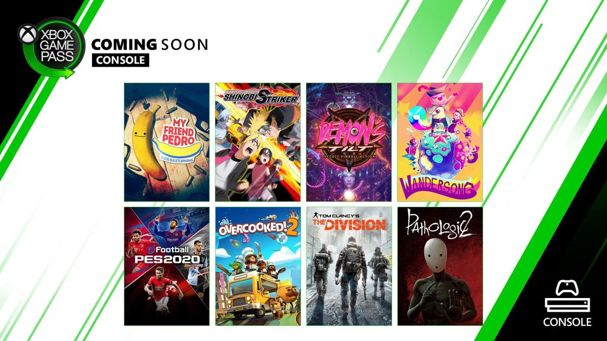 12月双平台XGP新游戏:《实况足球2020》《我的朋友佩德罗》等