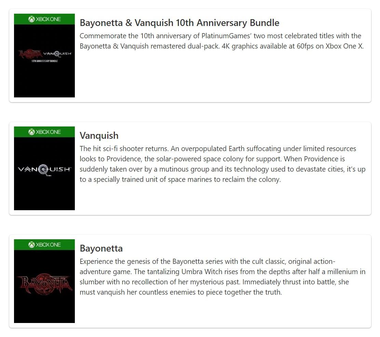 《獵天使魔女》高清版現身Xbox商店,支持4K/60幀