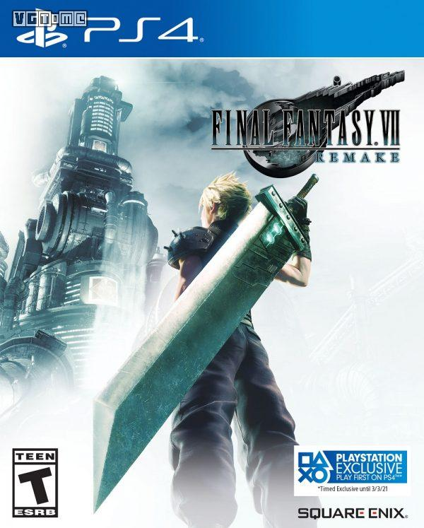 Square Enix confirms that final fantasy 7 remake will be exclusive for one year in PS4