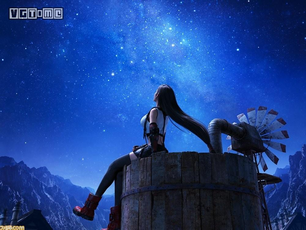 《最終幻想7 重制版》新截圖:蒂法愛麗絲薩菲羅斯美顏盛世