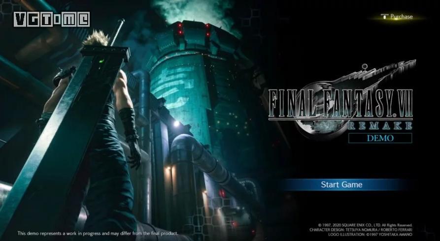 《最终幻想7 重制版》试玩版遭解包 网上冲浪谨防图透