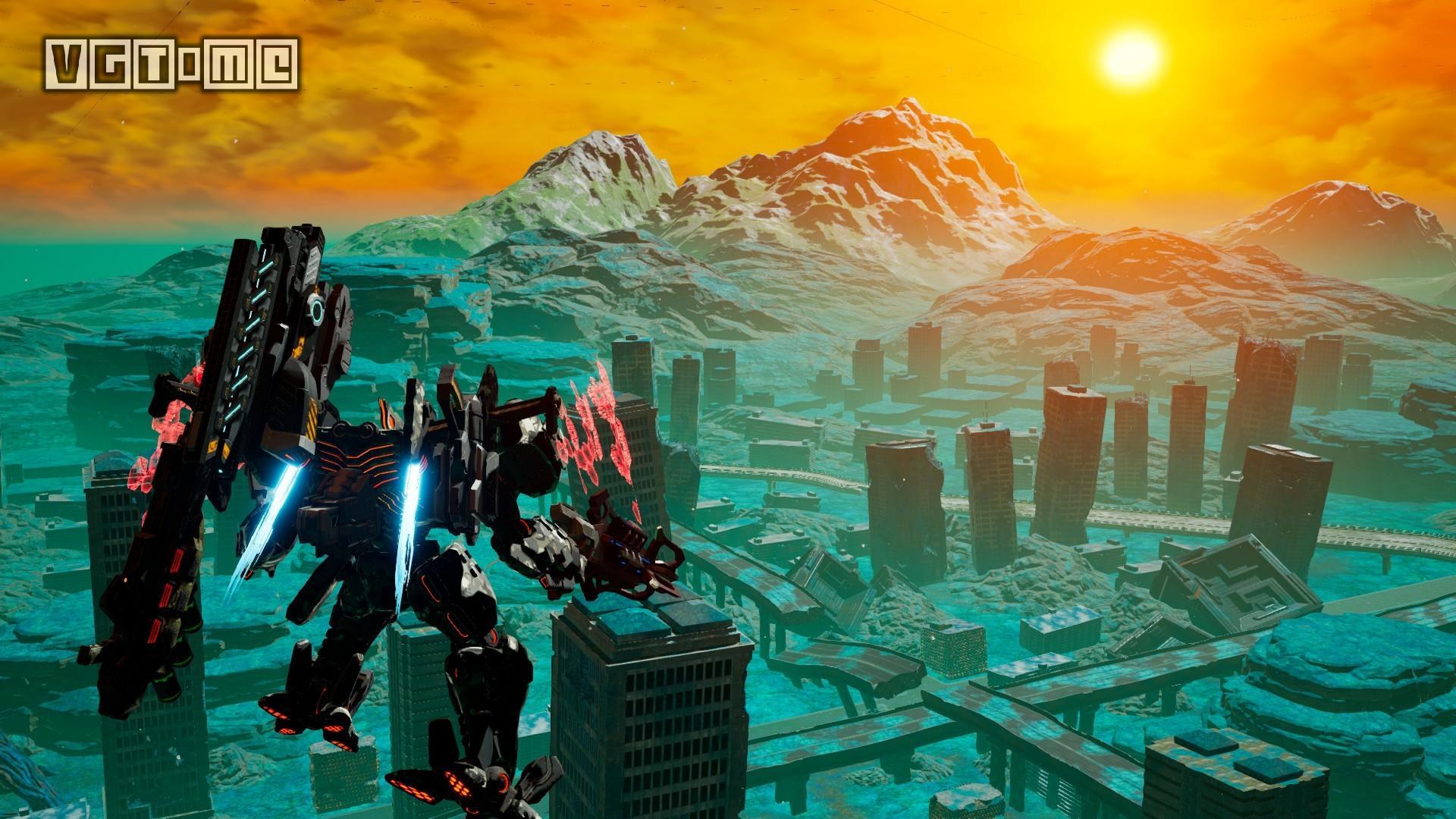 机甲对战游戏《机甲战魔》将于2月14日登陆PC
