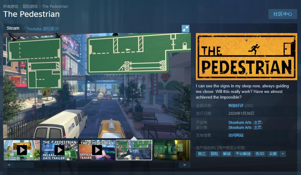盯着各种标志牌看了3小时后,我通关了这款Steam解谜新作