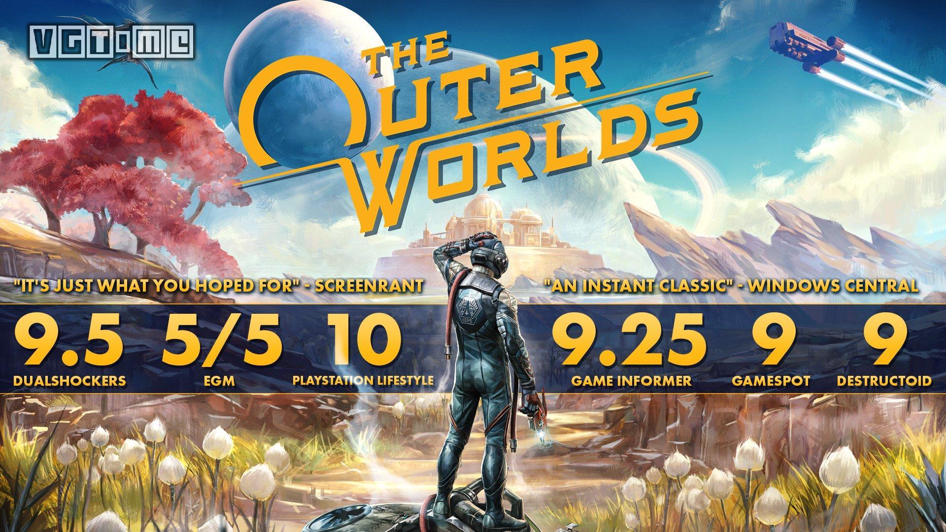 《天外世界》销量破200万,NS版因疫情爆发延期发售