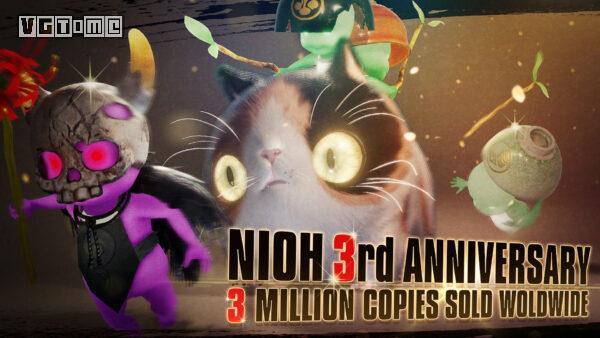 发售三年后,《仁王》的销量突破了 300 万份
