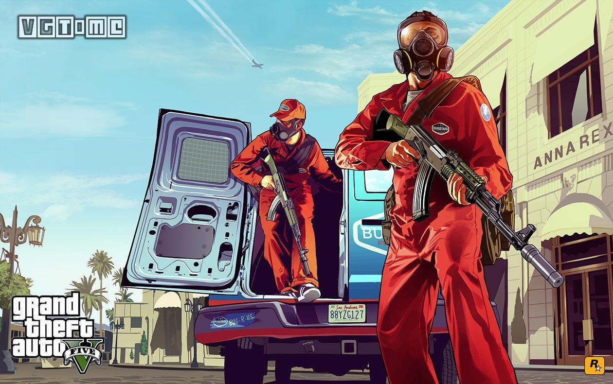 Steam销量周榜:《GTA5》重登榜首
