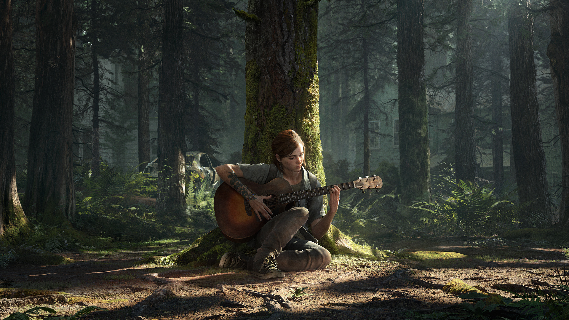 顽皮狗公布《最后生还者 第二幕》免费PS4动态主题