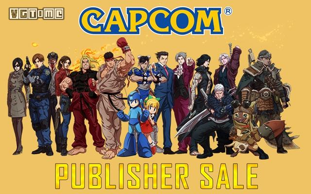 卡普空开启Steam平台发行商特惠促销 多款大作史低出售