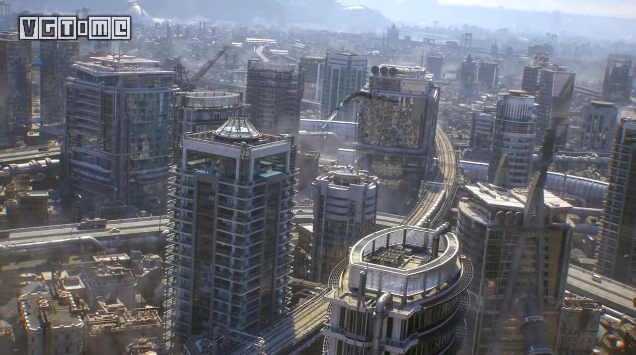 《最终幻想7 重制版》五分钟开场动画公布