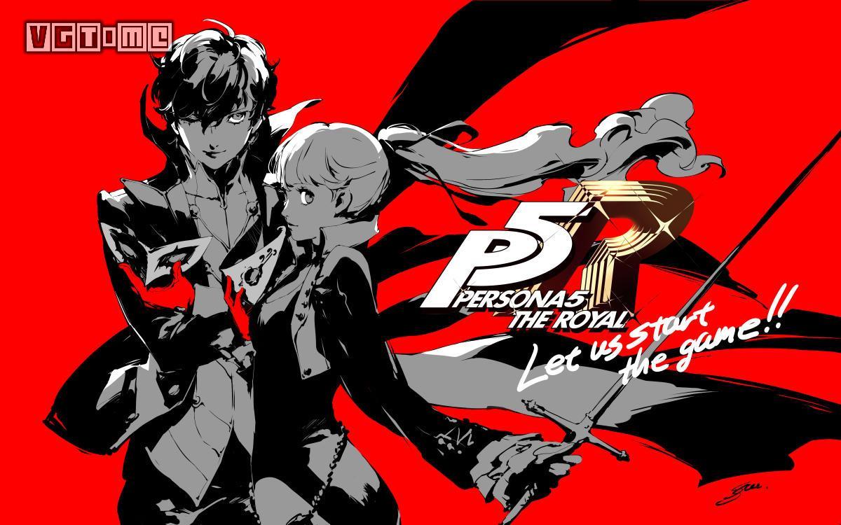 PS4《女神异闻录5R》中文版今日发售