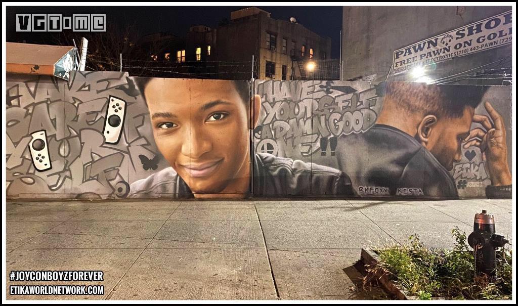 Etika的壁画成为了《宝可梦GO》官方宝可补给站