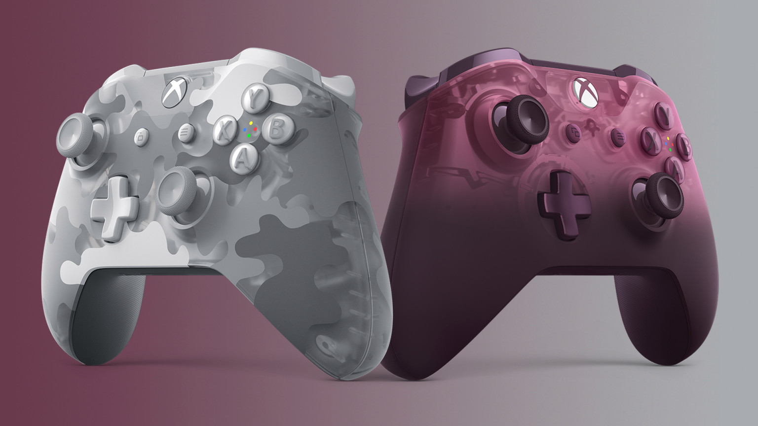 Microsoft announces two new Xbox handles, mirage magenta and Arctic camouflage