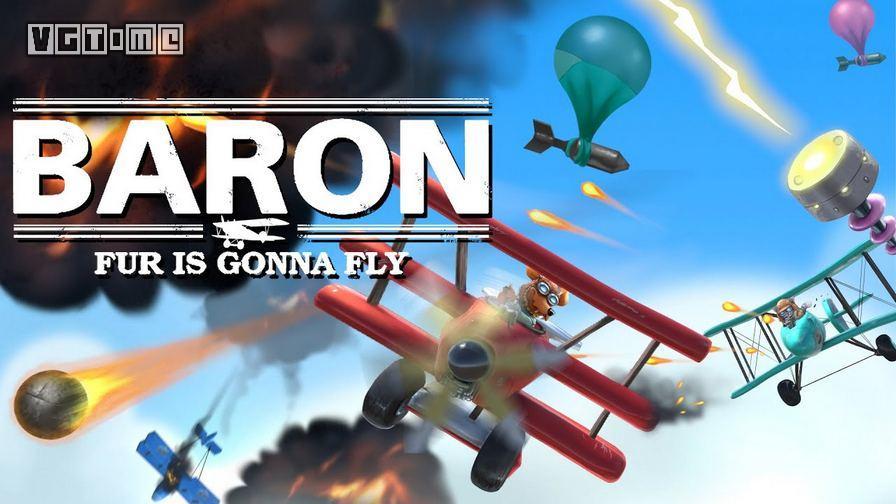 《关于天上有毛绒一边开男爵一边打飞机这件事》今日登陆Steam平台