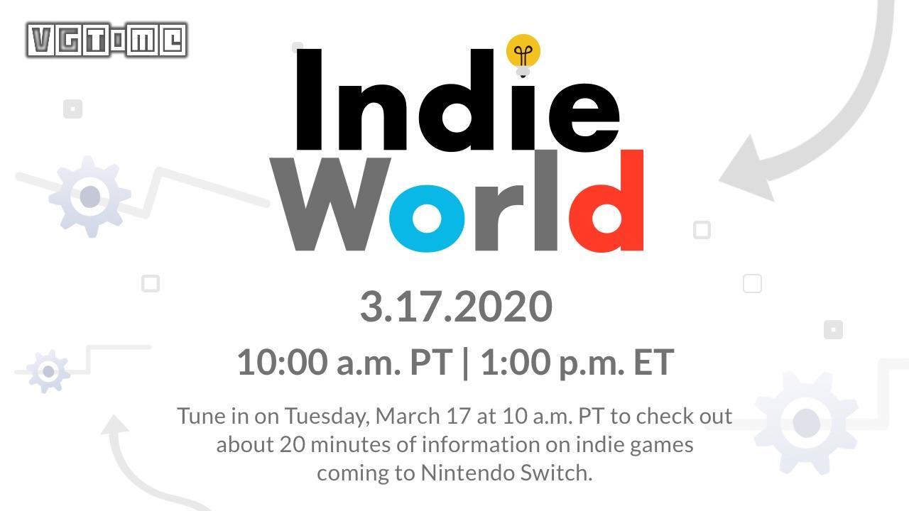 任天堂将在3月18日举办独立游戏直面会