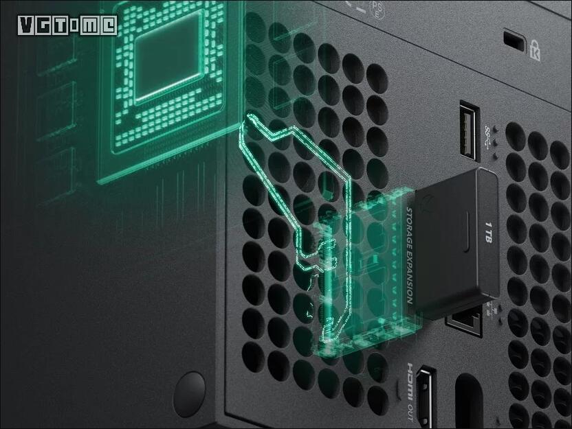 微软将联合希捷推出Xbox Series X专用SSD扩展存储卡