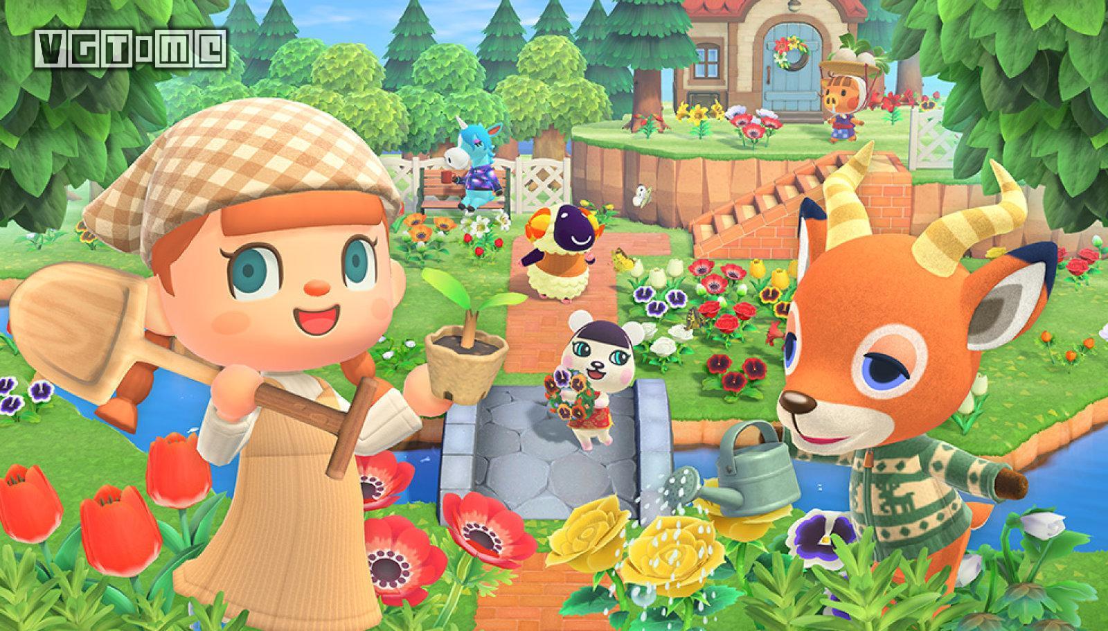 《集合啦!動物森友會》是2020年來亞馬遜上最暢銷的實體游戲