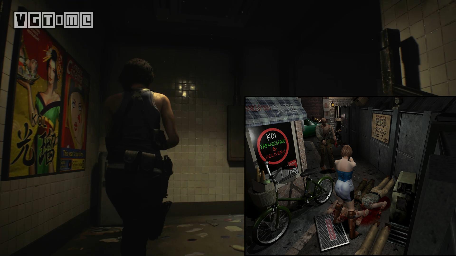 《生化危机3 重制版》试玩版里的彩蛋与致敬