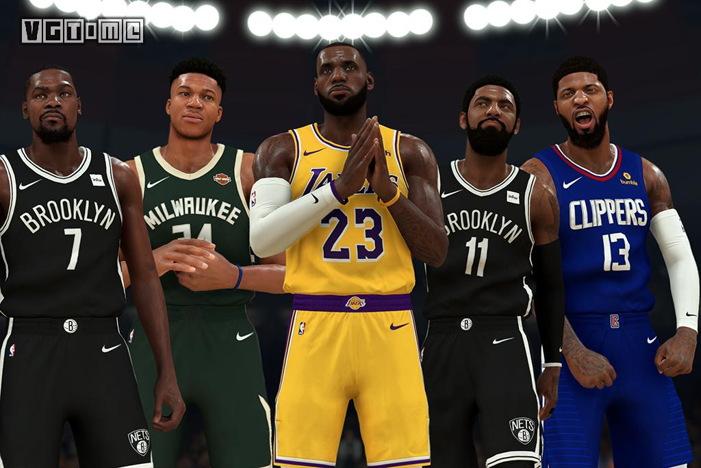 Let's play again! 16 stars will win in NBA 2k20