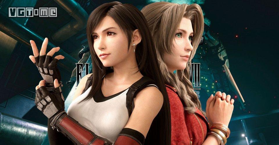 《最终幻想7 重制版》制作组:大家别争了,两位女主的戏份一样多