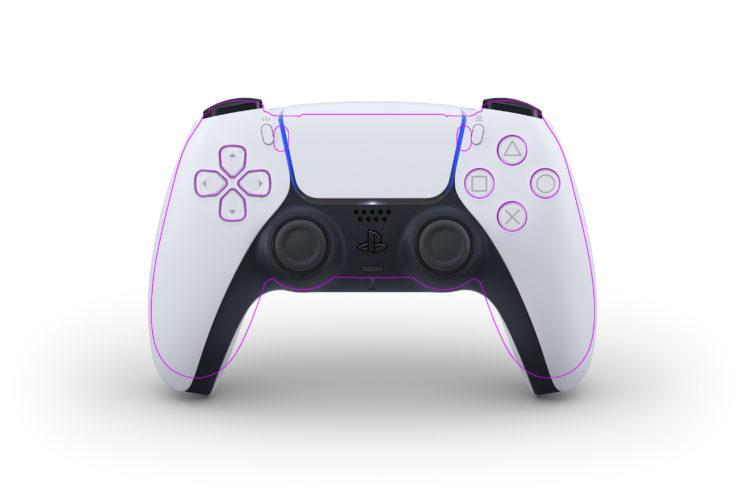 PS5与PS4手柄整体尺寸与细节对比:中间变宽 握把变长