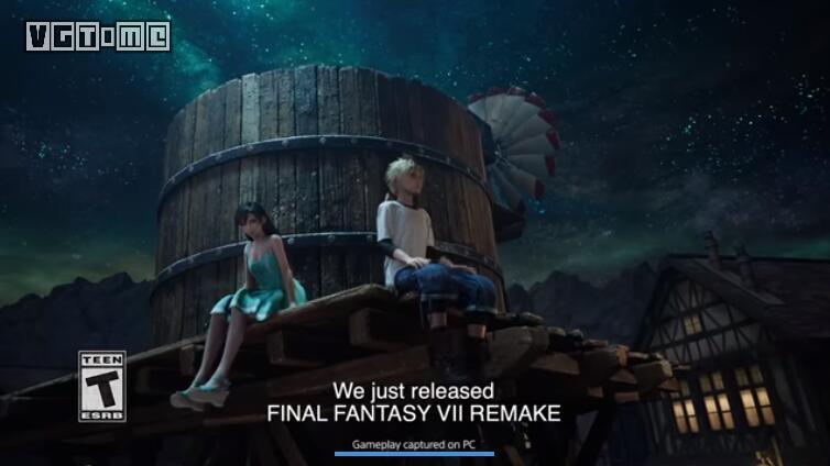 《最终幻想7 重制版》宣传片暗示了PC版的存在