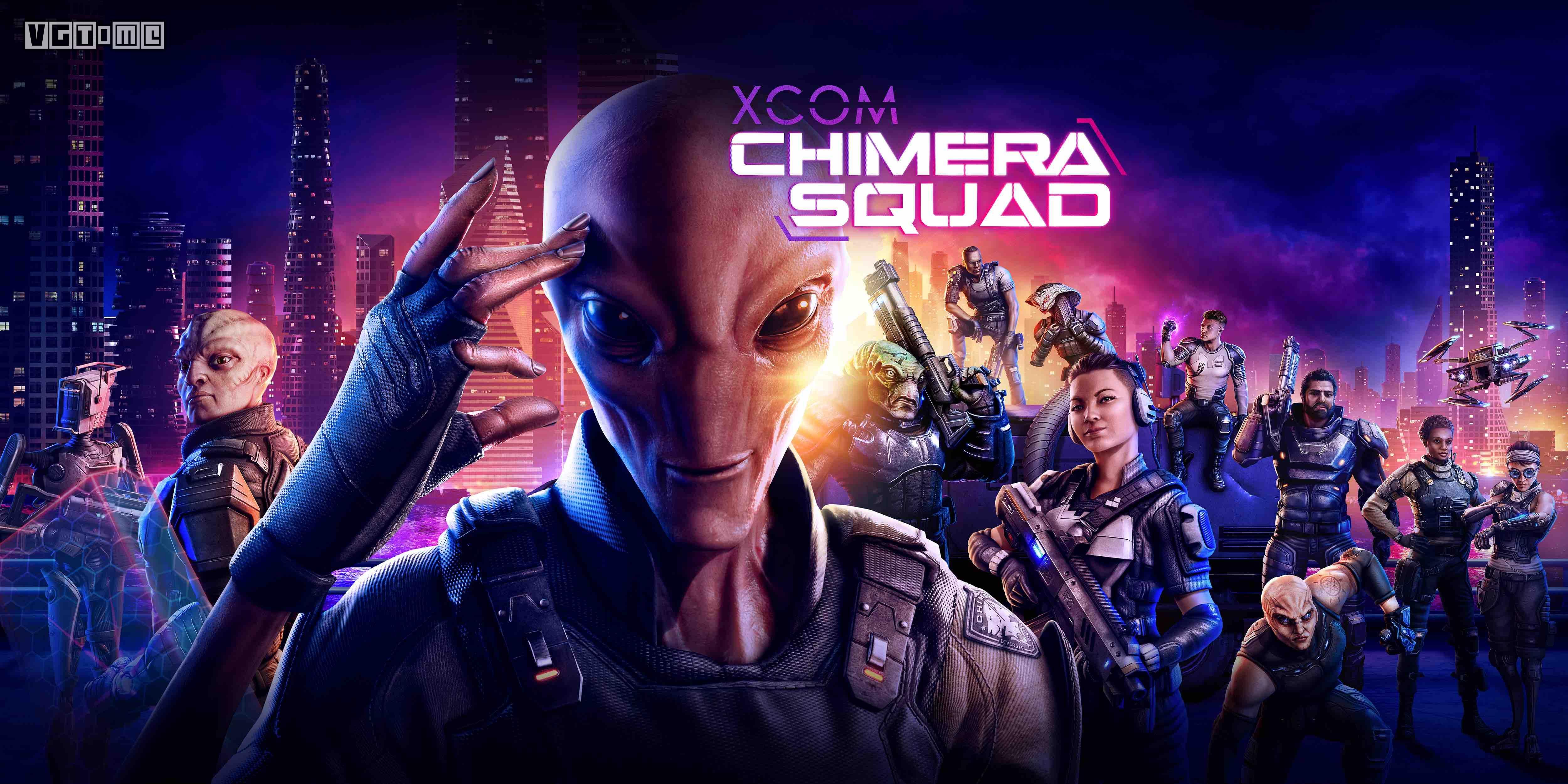 《幽浮》系列新作「奇美拉战队」将于4月24日登陆PC