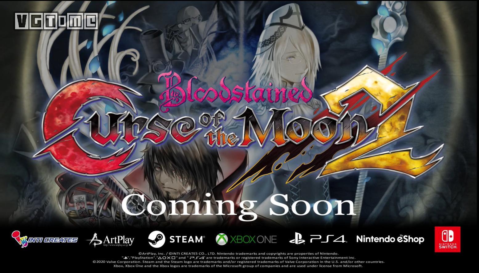 《赤痕:月之诅咒2》正式公布 登陆全平台