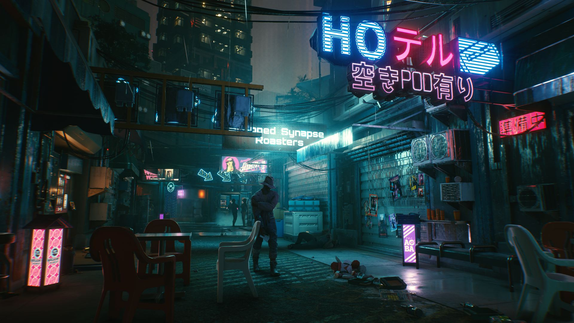《赛博朋克2077》海量新截图,欢迎来到夜之城