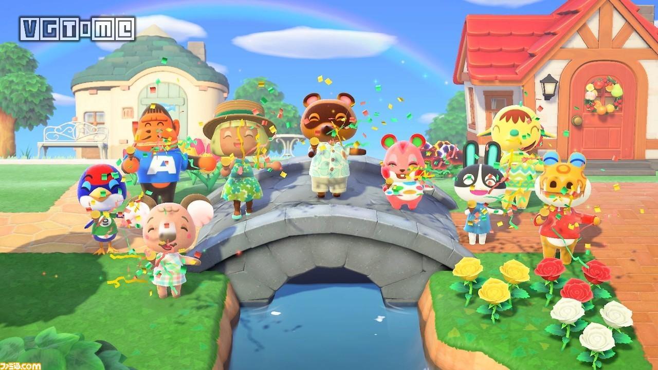发售三个月,《集合啦!动物森友会》日本地区实体销量破500万