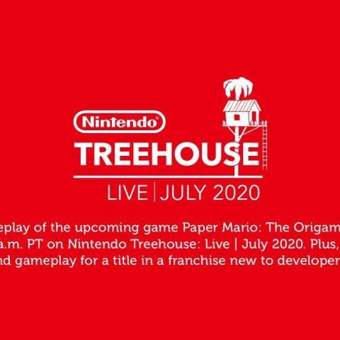 任天堂将于7月11日举办《纸片马力欧:折纸国王》树屋直播
