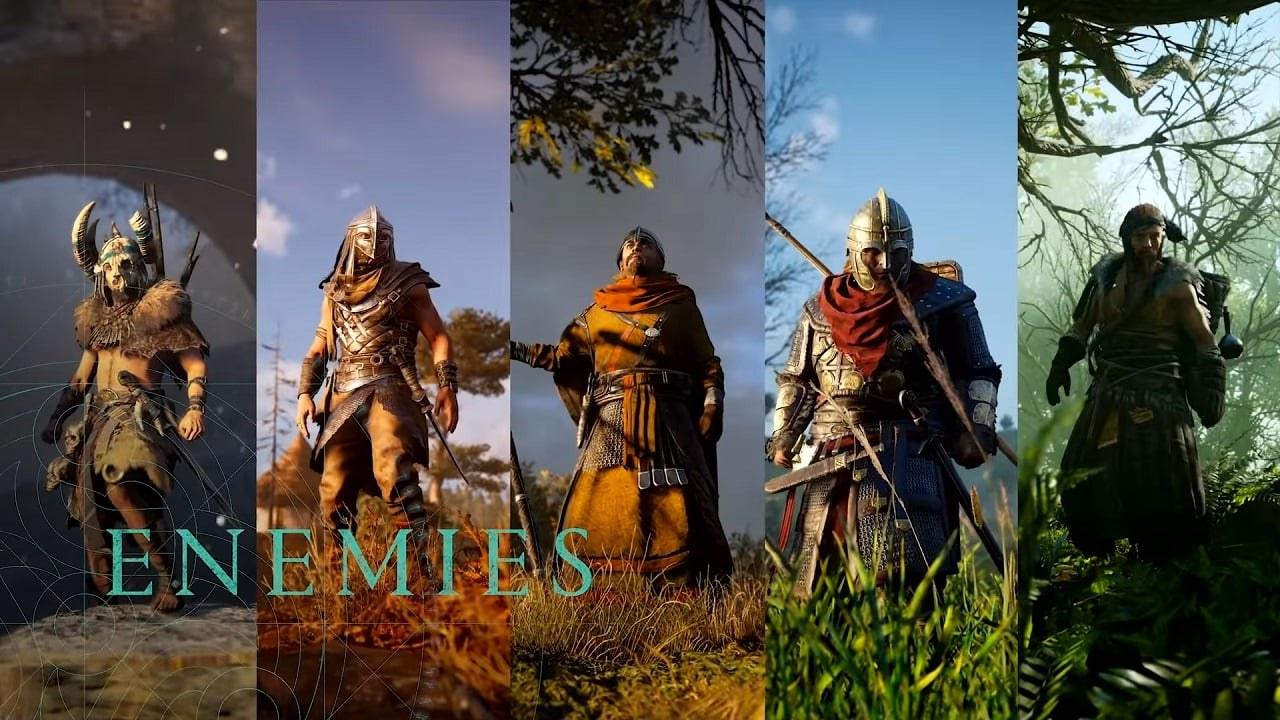 《刺客信条 英灵殿》将有25种敌人类型,或为系列最多
