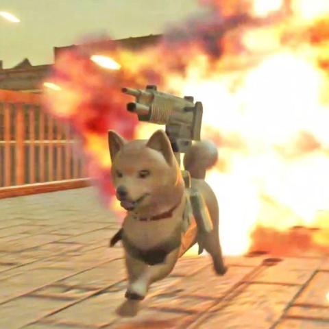 《重装机兵XENO Reborn》中可操作机器人Po-M和战斗犬波奇
