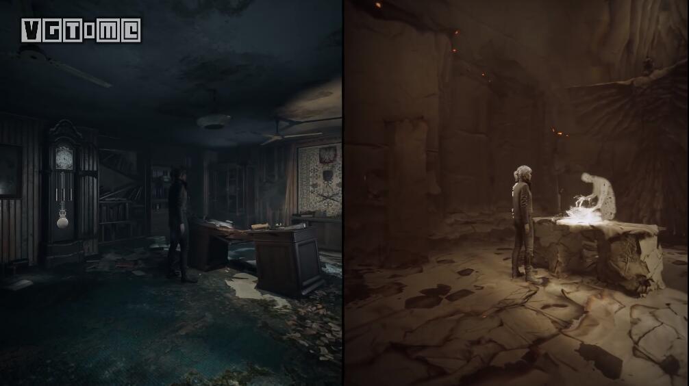 恐怖游戏《灵媒》实机演示:受益于新主机的分屏设计
