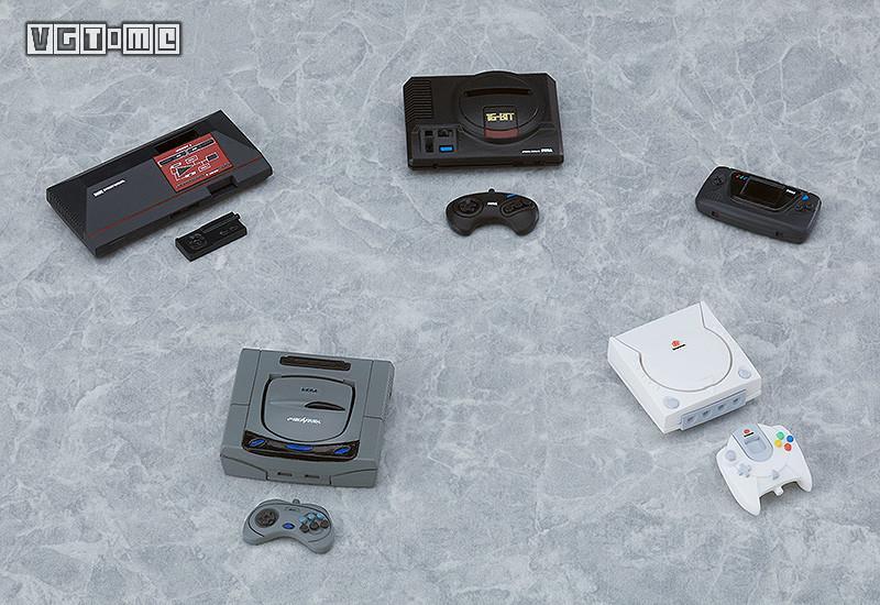 「世嘉游戏机」手办附加套件将于今年12月发售