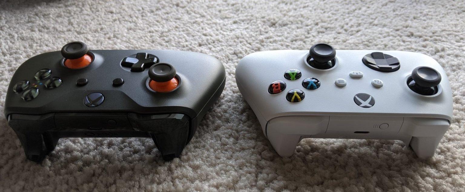 次世代Xbox手柄更多对比图:体型更小,细节变化多