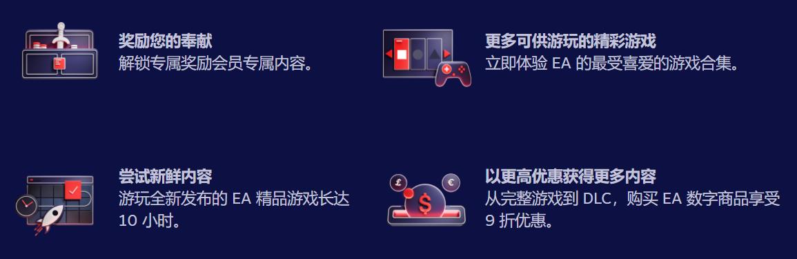 EA Play订阅服务现已上线Steam 每月38元